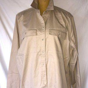 NWT - Banana Republic Chino Long Sleeve Shirt